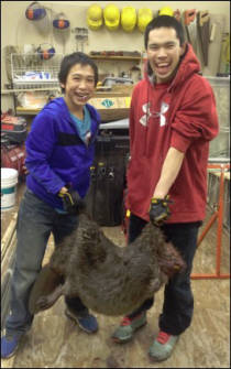 Young Alaska Beaver Trappers